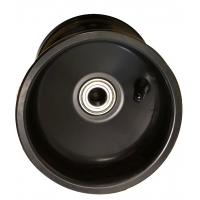 Cerchio Anteriore 116 mm Alluminio NERO