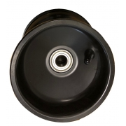 Cerchio Anteriore 116 mm Alluminio NERO, MONDOKART, kart, go