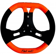 Steering Wheel CRG NEW FLAT OUT, mondokart, kart, kart store