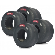 Juego Neumáticos Set Komet K2H Slick IAME X30 NEW!!, MONDOKART