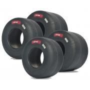 Tyres Set Komet K2H Slick IAME X30 NEW!!, mondokart, kart, kart