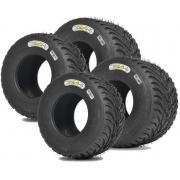 Juego Neumáticos Set Komet K1W RAIN IAME X30 NEW!!, MONDOKART