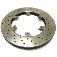 Rear brake disc 206 x 16 mm suitable for OTK TonyKart - not homologated