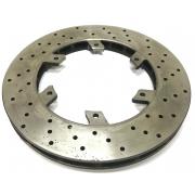 Disque frein arrière 206 x 16 mm compatible avec OTK TonyKart -