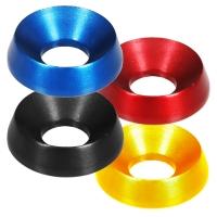 Rondelle conique aluminium 19 x 8 mm