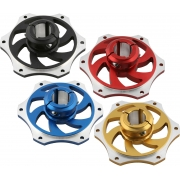 Sprocket Carrier Holder 30mm anodized aluminum, mondokart