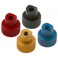 Knob controller for anodized brake rod