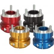 Rear hub anodized aluminum 50 / 75-8, mondokart, kart, kart