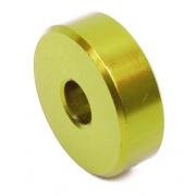 Entretoise Siege Aluminium Anodized GOLD - 10mm, MONDOKART