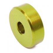 Sitzabstandhalter Eloxierter GOLD Aluminium - 10mm, MONDOKART