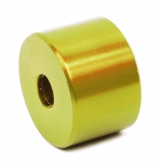 Distanziale Sedile Alluminio Anodizzato GOLD - 18mm, MONDOKART