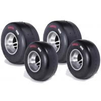 Juego Neumáticos MG - SC -Rojo CIK FIA NEW!! MINI