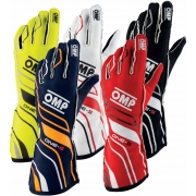 Gloves OMP ONE-S Autoracing Fireproof, mondokart, kart, kart