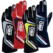Gloves OMP FIRST EVO Autoracing Fireproof, mondokart, kart