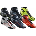 Bottines Auto Racing OMP ONE-S Ignifuge, MONDOKART, kart, go