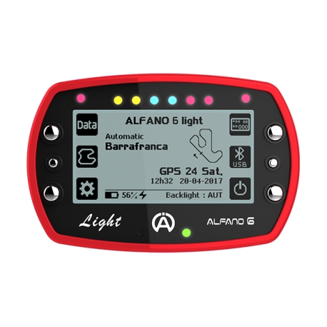Alfano 6 LIGHT - Telemetría Laptimer LIGHT, MONDOKART, kart, go