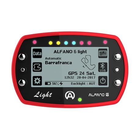 Alfano 6 LIGHT - Telemetry Laptimer LIGHT, MONDOKART, kart, go