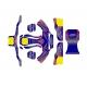 Kit Adhesivos CKR Baby Mini 60cc, MONDOKART, kart, go kart