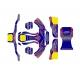 Kit Deco CKR + Plancher Baby Mini 60cc, MONDOKART, kart, go