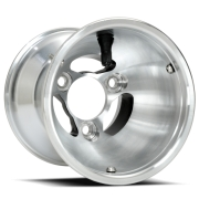 Rear Aluminum Rim Douglas DWT vented 145mm, mondokart, kart