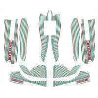Kit adesivi TonyKart OTK Rookie 60 Mini / Baby per carenature M8 NEW