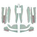 Designkit TonyKart OTK 60 Rookie Mini / Baby-M8 fairings NEW