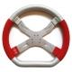 Steering Wheel 6 holes Tony Mondokart, mondokart, kart, kart