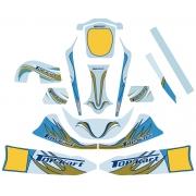 Kit Adhesivo Topkart 60cc Mini / Baby, MONDOKART, kart, go