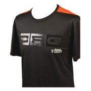 T-Shirt CRG Schwarz BLACK!, MONDOKART, kart, go kart, karting
