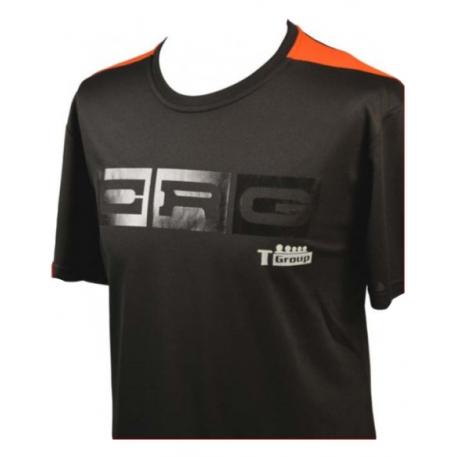 T-Shirt CRG Kart BLACK!, MONDOKART, kart, go kart, karting