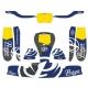 Kit Adhesivos para carenado KG 506 IPK Praga - NEW 2020