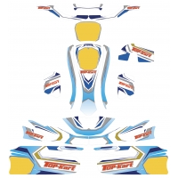 Bodyworks Stickers Top Kart Twister 125cc KF KZ FP7