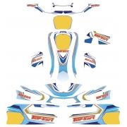 Designkit Bodyworks Aufkleber Top Kart Twister 125cc KF KZ FP7