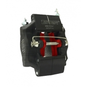 Pinza Freno Anteriore V05 - V11 Nera Top-Kart, MONDOKART, kart