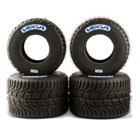 Juego Neumáticos Set Vega lluvia W6 CIK W