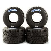 Juego Neumáticos Set Vega lluvia W6 CIK W, MONDOKART, kart, go