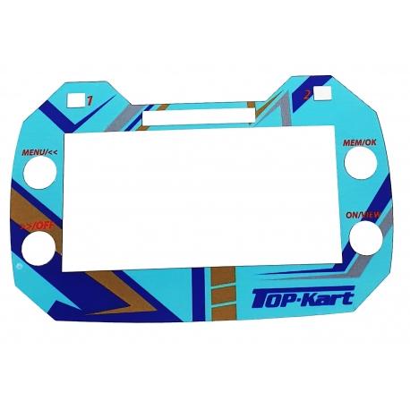 Aufkleber Cover Top-Kart fur AIM Mychron 5, MONDOKART, kart, go