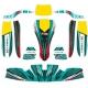 Kit Adhesivos para carenado KG 506 IPK Formula K - NEW 2020