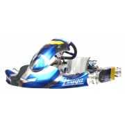 Kit Adesivi Carenature KG MINI MK20 IPK Praga, MONDOKART, kart
