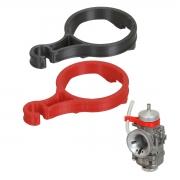 Supporto per Tubo Benzina Carburatore DellOrto 30mm, MONDOKART