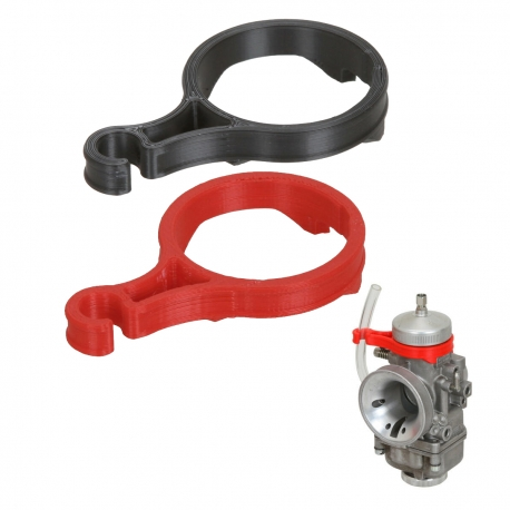 Support for Fuel Pipe Carburettor DellOrto 30mm, mondokart