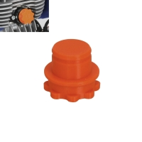 Tappo Protezione Foro Aspirazione Minikart 18mm
