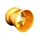 Cerchio Anteriore Mondokart Standard Magnesio GOLD, MONDOKART