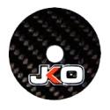 Rondelle Securitè CARBONE Seats Jecko M8-53mm, MONDOKART, kart