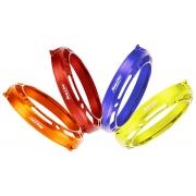 Cubierta Protección Embrague ERGAL Anodizado Plastico TM KZ10C