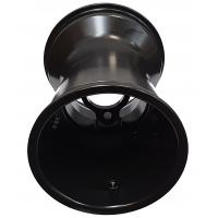 "Rear Rim Wheel 180mm Rain ""RACES"" Standard Alluminium (with holes) TOP-KART BLACK EDITION"