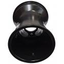 Cerchio Posteriore Standard 180 mm Rain Alluminio A RAZZE (con fori) TOP-KART BLACK EDITION