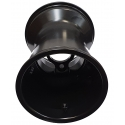 "Rear Rim Wheel 180mm Rain ""RACES"" Standard Alluminium (with holes) TOP-KART BLACK EDITION"