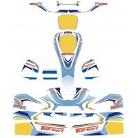Bodyworks Stickers KG 506 Top-Kart OK OKJ KZ Version RT20