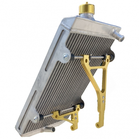Radiator AF TWENTY-1 with Anodized Colore Supports, mondokart